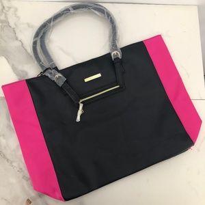 Juicy Courture black pink tote bag
